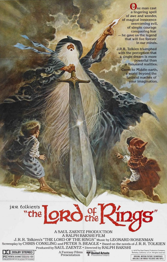 Властелин Колец / The Lord Of The Rings (1978) BDRip