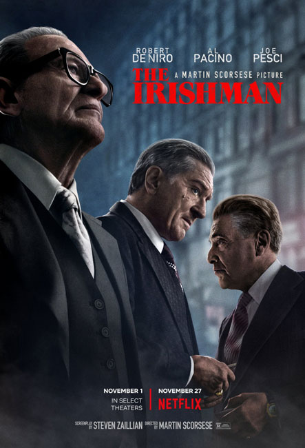Ирландец / The Irishman (2019) Ultra HD | 4K