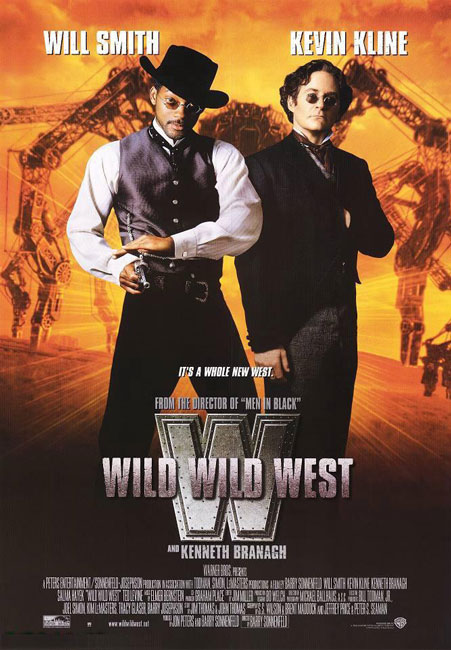 Дикий, дикий Запад / Wild Wild West (1999) BDRip