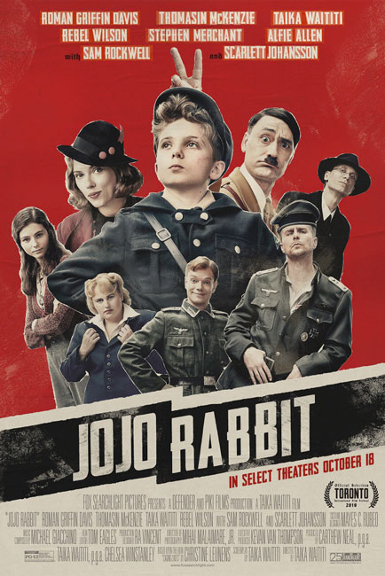 Кролик Джоджо / Jojo Rabbit (2019) DVDScr