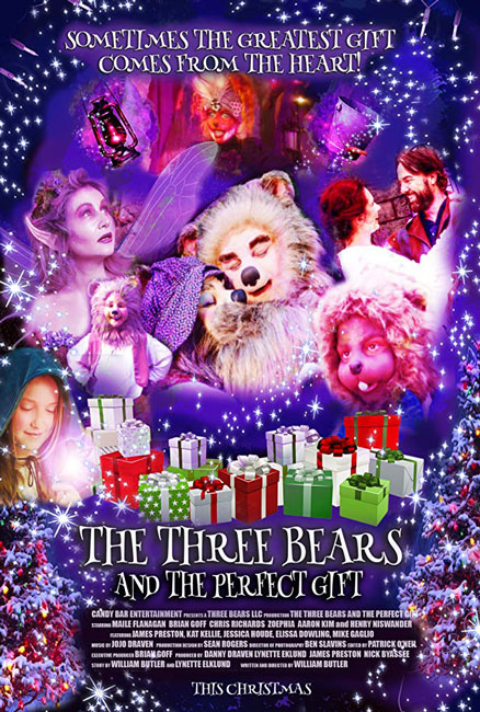 Рождество трех медвежат / The Three Bears and the Perfect Gift (2019) WEB-DLRip