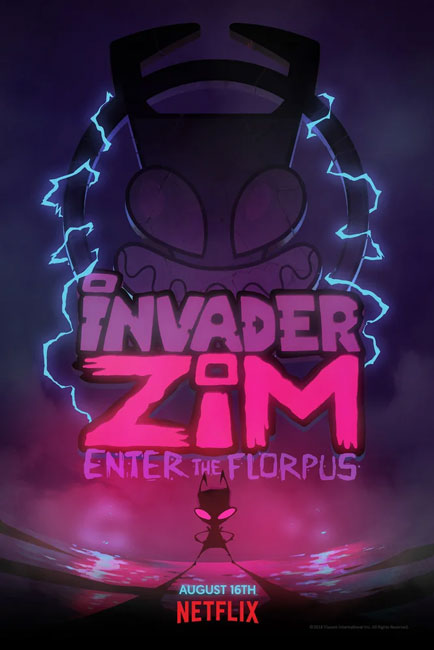 Захватчик ЗИМ: Вход во Флорпус / Invader ZIM: Enter the Florpus (2019) WEB-DLRip