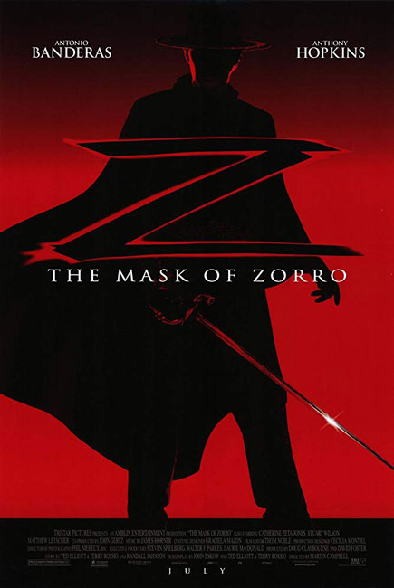 Маска Зорро \ The Mask of Zorro (1998) DVDRip
