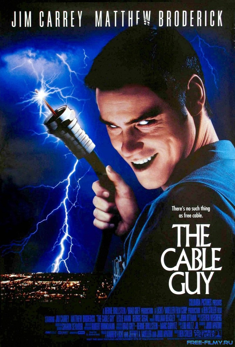 Кабельщик / The Cable Guy (1996) HDRip